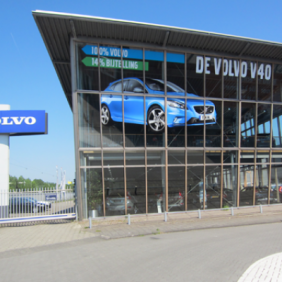 Volvo raambelettering
